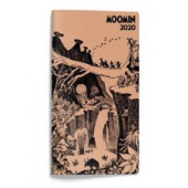 Moomin 2020 Slim taskukalenteri
