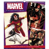 Women of Marvel Poster Ed 2017 Wall Calendar