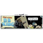 Fingerpori-sarjakuvataulu - BB King
