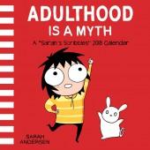 Adulthood Is a Myth - A Sarah's Scribbles 2018 Calendar