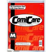 ComiCare Magazine Size Polyethylene Bags (100)