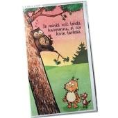 Kamala luonto / Ei kovin tärkeää -2-osainen kortti