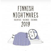 Finnish Nightmares -seinäkalenteri 2019