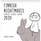 Finnish Nightmares -seinäkalenteri 2020