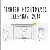 Finnish Nightmares -seinäkalenteri 2018