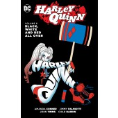 Harley Quinn 6 - Black, White and Red All Over