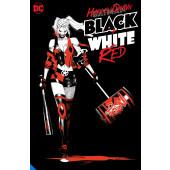 Harley Quinn - Black + White + Red