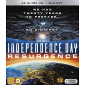 Independence Day - Uusi uhka (4K Ultra HD + Blu-ray)