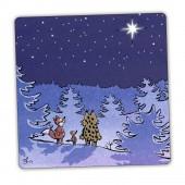 Kamala Luonto joulutähti -postikortti