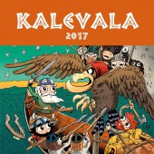 Kalevala 2017-seinäkalenteri