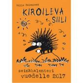 Kiroileva siili -seinäkalenteri vuodelle 2017