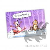 Kamalaa päivää Kamala Luonto -postikortti