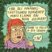 Fok_It-joulukortti - Ananaskonvehti