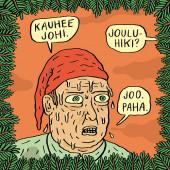 Fok_It-joulukortti - Kauhee johi