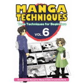 Manga Techniques 6 - Tone Techniques for Beginners (K)