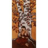 Metsänpeitto-postikortti - Imettävä äiti