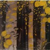 Metsänpeitto-postikortti - Vanha Haapa