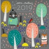 Mira Mallius -seinäkalenteri 2019