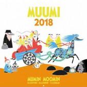 Muumit Seinäkalenteri 2018