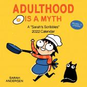 Adulthood Is a Myth - A Sarah's Scribbles 2022 Wall Calendar