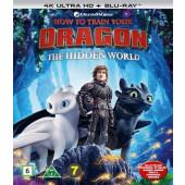 Näin koulutat lohikäärmeesi 3 (4K Ultra HD + Blu-ray)