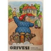 Orivesi - Mämmilän kotokaupunki, postinjakaja -postikortti