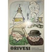 Orivesi - Mämmilän kotokaupunki, kirkolla -postikortti