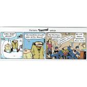 Fingerpori-sarjakuvataulu - Poliisit bileissä