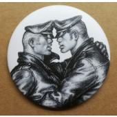 Pyöreä magneetti - Leather duo