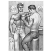 Tom of Finland / The Tattooed Sailor -postikortti