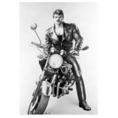 Tom of Finland / Moottoripyörä -postikortti