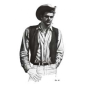 Tom of Finland / Cowboy-postikortti