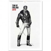 Tom of Finland -seinäkalenteri 2019