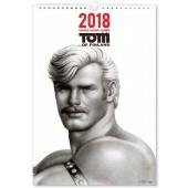 Tom of Finland -seinäkalenteri 2018