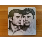 Tom of Finland -lasinalunen 3 (Dark Hair)