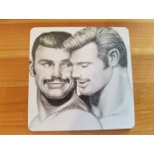 Tom of Finland -lasinalunen 4 (Moustache)