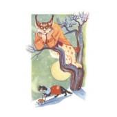 Tove Jansson -postikortti - Ilves ja kissa