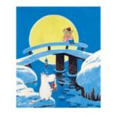 Tove Jansson -muumipostikortti - Taikatalvi