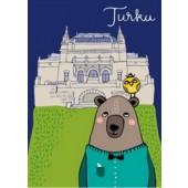 Turku-postikortti - Turun taidemuseo