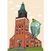 Turku-postikortti - Turun tuomiokirkko