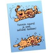 Kamala luonto / Kunnon naurut -kortti