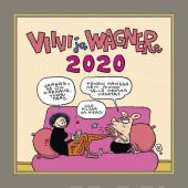 Viivi ja Wagner -seinäkalenteri 2020