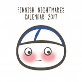 Finnish Nightmares wall calendar 2017